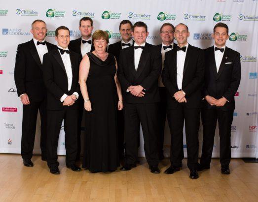 Albert Goodman at the Somerset Business Awards
