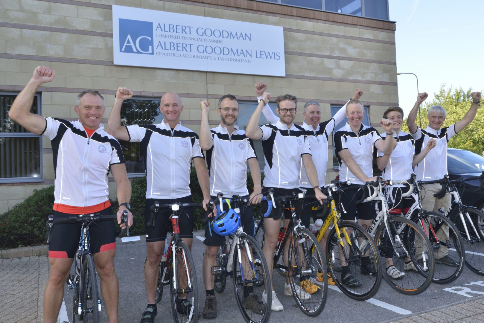 AG150 Cyclists at WSM