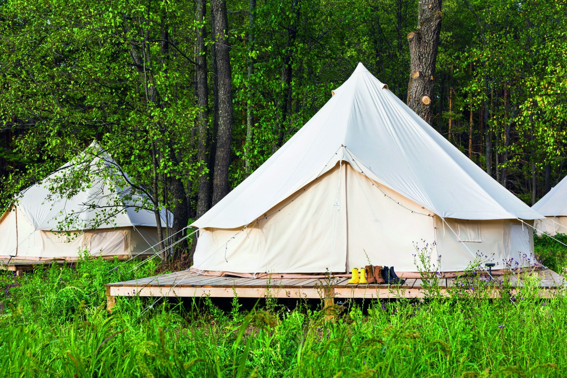 Glamping as a diversification option