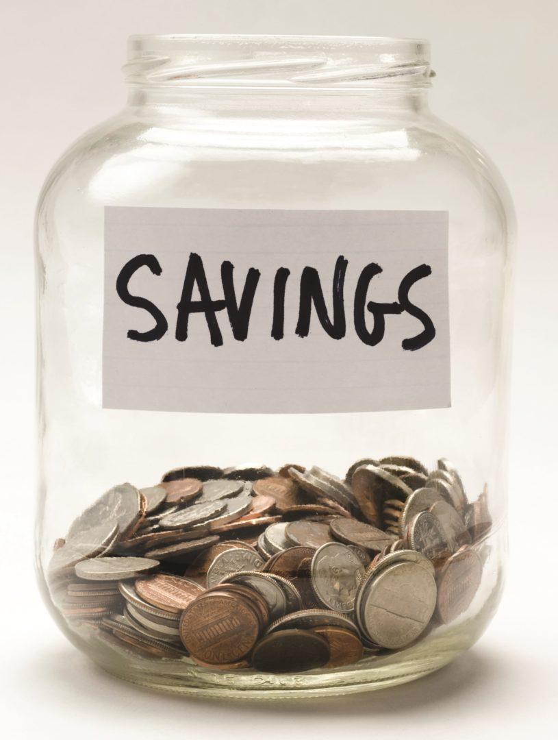 Jam Jar savings
