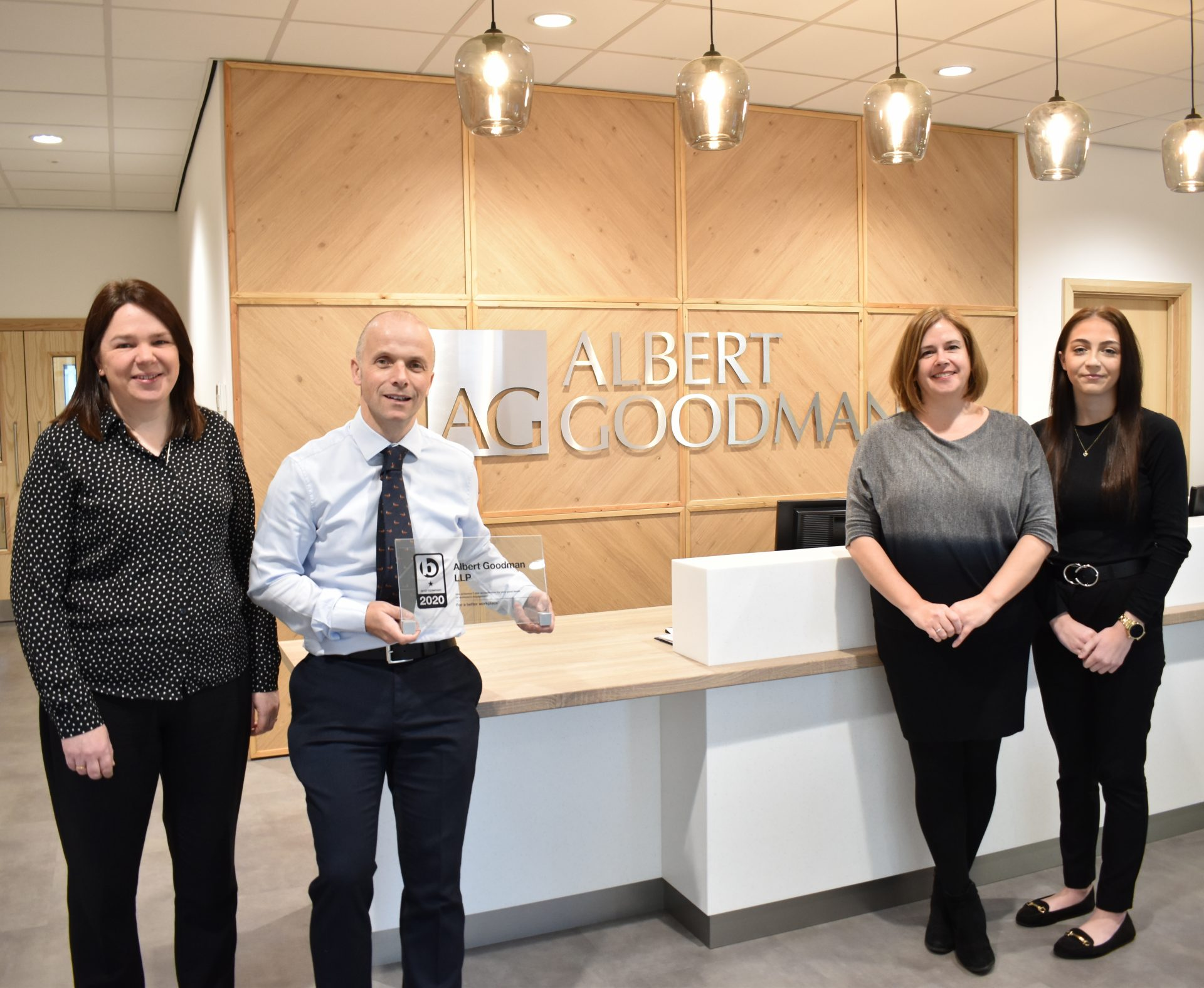 Albert Goodman Human Resources Award - Somerset Accountancy Services