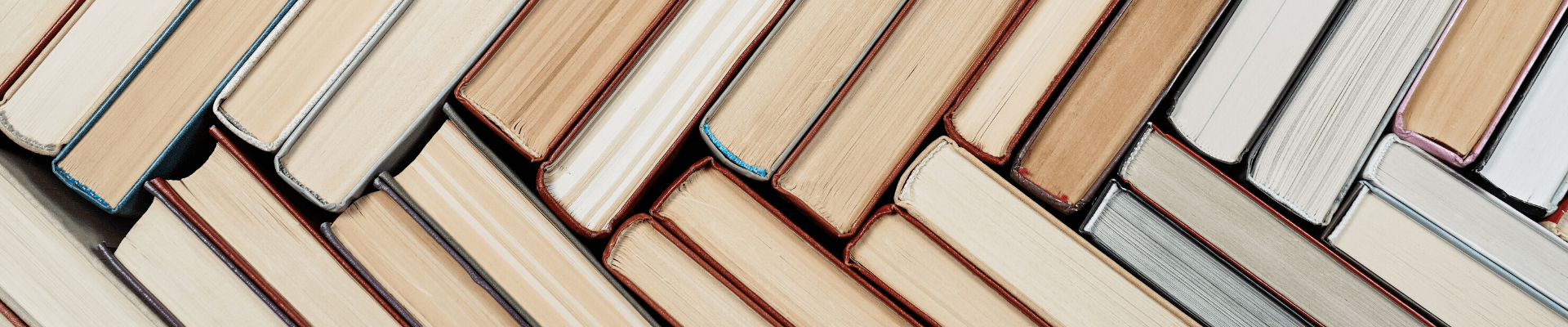 Books Stacked Diagonally