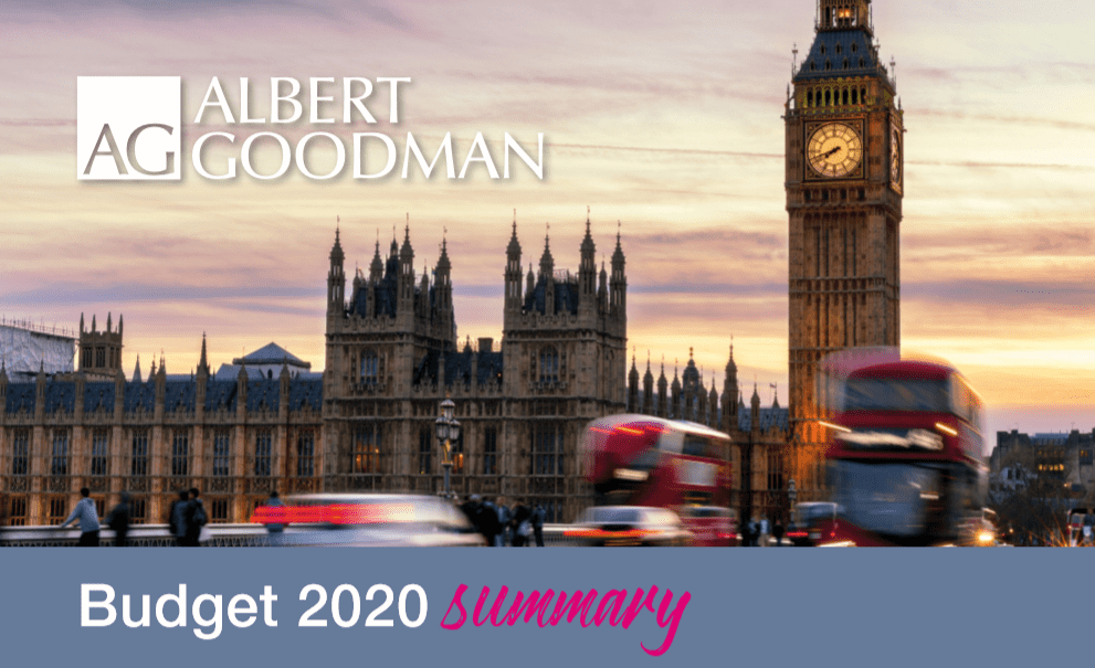 Budget Summary 2020 Somerset Accountancy Services