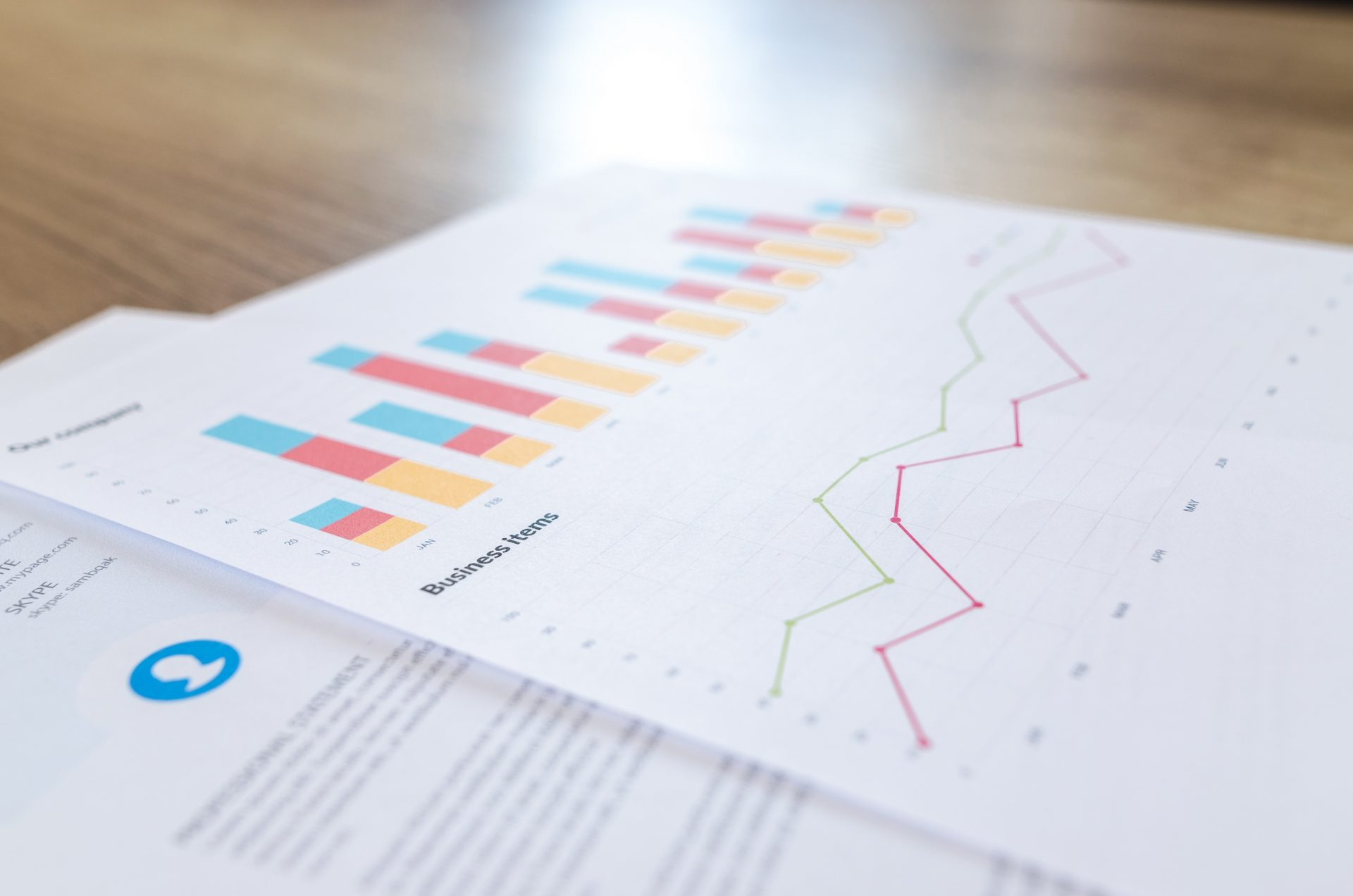 Accoutancy Graph - Accountants in Somerset