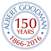 150 years of Albert Goodman